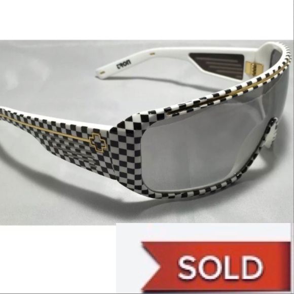 SPY Other - SOLD!  Vintage Spy Optic Tron Checkered Sunglasses